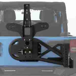 Smittybilt 76857 XRC/SRC Gen2 Bolt-On Tire Carrier Wrangler JK