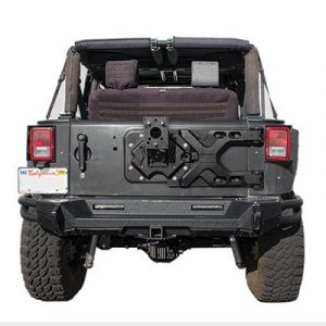 Smittybilt 2843 Pivot Heavy-Duty Oversize Tire Carrier