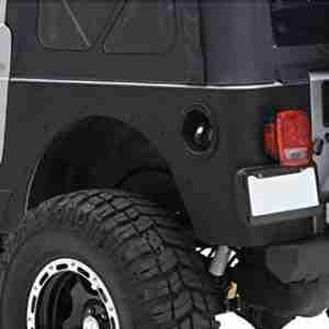 Smittybilt XRC Rear Corner Guards for Wrangler TJ