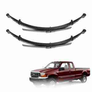 Pro Comp 22415 Pair of Rear 4 Lifted Leaf Springs - 1999-2007 Ford F250 F350 4WD