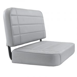 Smittybilt Standard Rear Seat for 1955-1995 Jeep CJ5 / CJ7 / CJ8 Scrambler / Wrangler YJ - Gray Denim