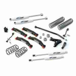 "Pro Comp 4"" Stage 2 Suspension Lift Kit for 2004-2006 Jeep Wrangler TJ Unlimited"