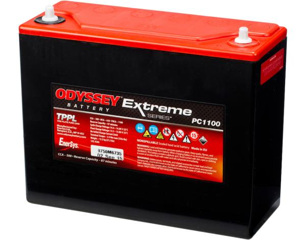 Odyssey PC1100 Extreme Series Battery