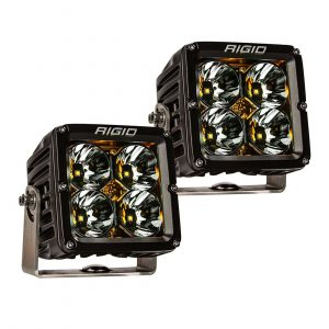 Rigid 32205 Radiance Pod XL LED Light Amber