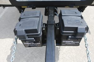 """TLA7735 ExtendedPower Kit for Aftermarket 2"""" x2"""" Single Extension (includes single Group 24 battery box and bracket)"""