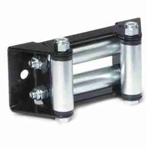 Warn® 5742 Winch Roller Fairlead, Over 4,000 Lbs, Zinc Plated
