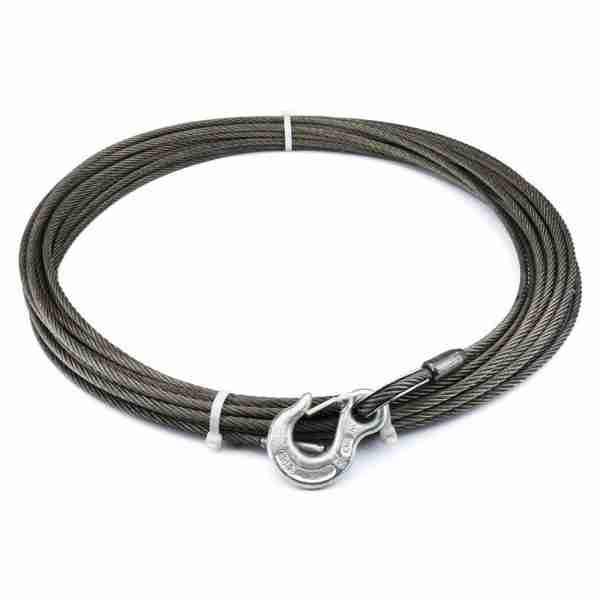 "Warn® 25987 Winch Cable & Hook 5/16"" X 125' - 9,000 Lb"