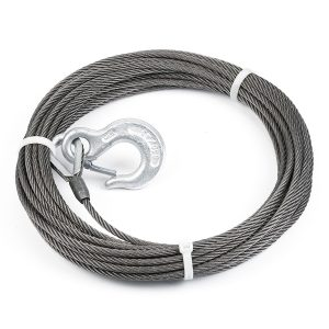 "Warn® 15276 Steel Rope 5/16"" X 80' - 8,000 Lb Capacity"