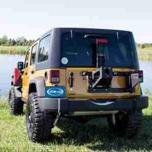 MORryde® JP54-017 Heavy Duty Spare Tire Carrier for 2007-2018 Jeep Wrangler JK