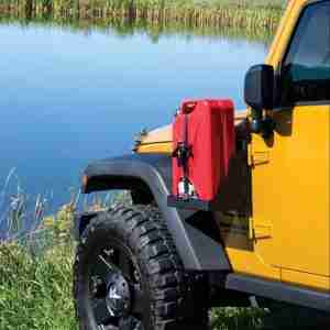 MORryde® JP54-018 Jerry Can Side Mount Tray for 2007-2017 Jeep Wrangler JK