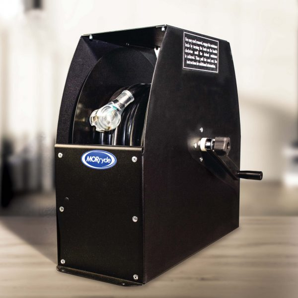 """MORryde® REEL56-001H Storage Reel with Hand Crank for 50' Long Power Cords - 17-5/8"""" Tall"""