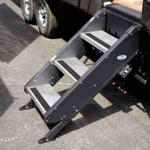 "MORryde® STP-3-27-05H StepAbove 3-Step RV Entry Steps for 27"" Door"