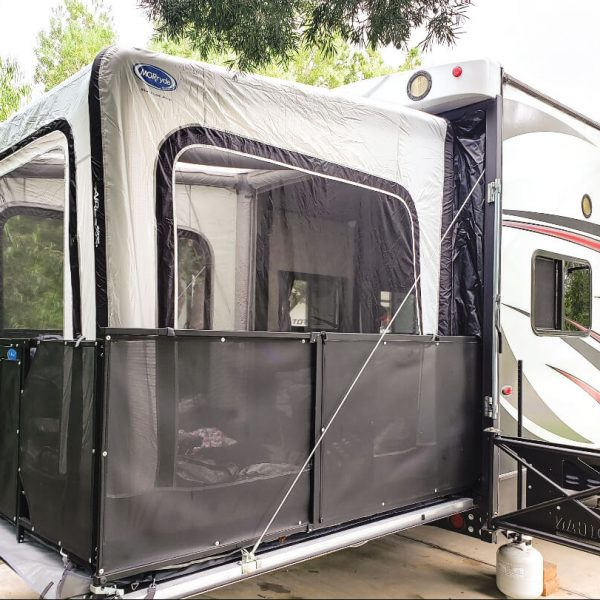 MORryde® THP-EX2 Inflatable Rear Patio Tent for Toy Haulers