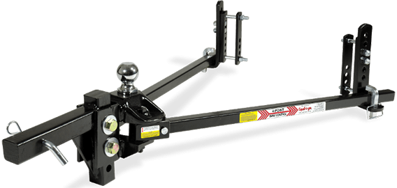 Equal-i-zer® 90-00-0669 600/6,000 lb. 4 Point Sway Hitch w/ Pre-installed Hitch Ball