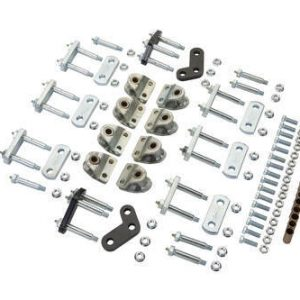 MORryde® LRE12-004 Shackle Upgrade Kit for Triple Axle Trailers with LRE Leaf Spring Suspensions