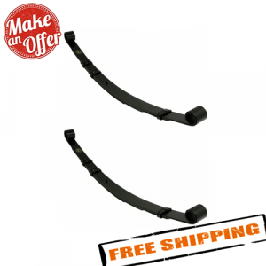 Crown Automotive 4886186AA Set of 2 Rear Leaf Springs for 84-01 Jeep Cherokee XJ