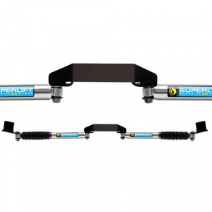 Superlift 92730 Dual Steering Stabilizer Kit for 05-19 Ford F250/F350 Super Duty