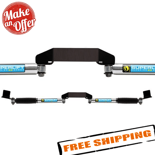 Superlift 92709 Dual Steering Stabilizer Kit for 09-13 Dodge Ram 2500/3500 4WD