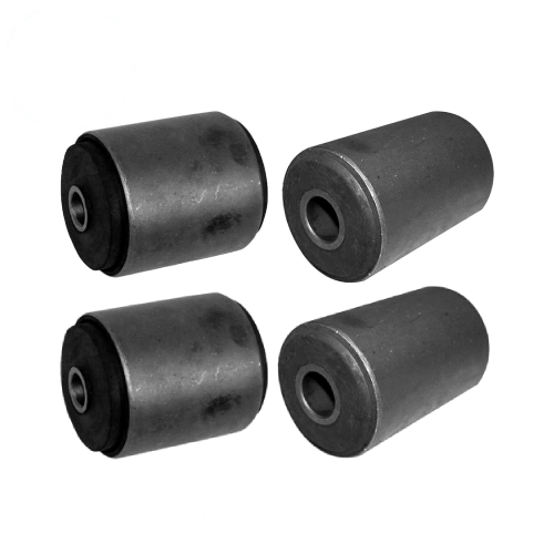 Crown Set of 4 Front & Rear Leaf Spring Bushings for 1984-2001 Jeep Cherokee XJ