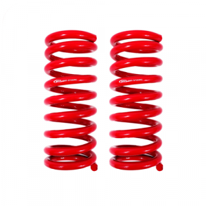 BMR Suspension SP055 Red Front Lowering Springs for 1967-1969 Camaro/Firebird