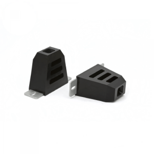 """Daystar KU09016BK 4.5""""x4.5""""x2.5"""" Bump Stop with Slotted Mount Plate Comp Style"""