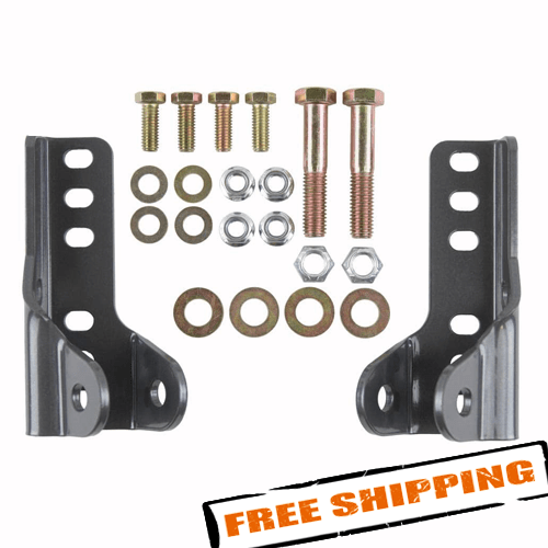 Synergy Mfg 8074 Jeep JK Rear Lower Shock Mount Kit