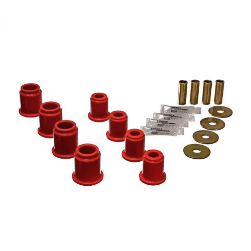 Energy Suspension 8.3115R Red Front Control Arm Bushings Kit for Toyota Tacoma
