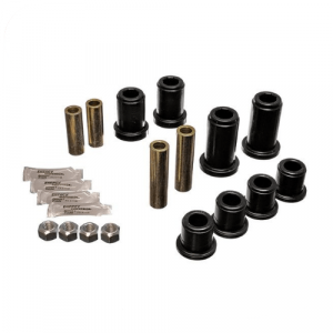Energy Suspension 3.3185G Black Front Control Arm Bushing Replacement Kit
