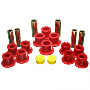 Energy Suspension 4.2148R Red Front Leaf Spring Bushings for Ford F-250/F-350