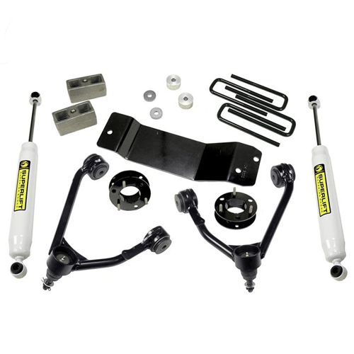 "Superlift 3600 3.5"" Lift Kit w/ Rear Shocks for 14-19 GM Silverado/Sierra 1500"