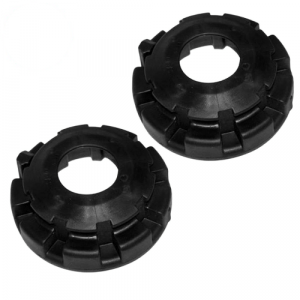 Crown 52088401 Set of 2 Front Coil Spring Lower Isolators for Grand Cherokee WJ