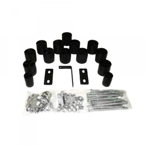 """Daystar PA823 3"""" x 3"""" Front and Rear Body Lift Kit for 92-97 Ford F150/F250/F350"""