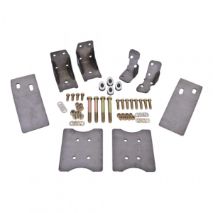 BMR Suspension TBR001 Torque Box Reinforcement Plate Kit for 79-04 Ford Mustang