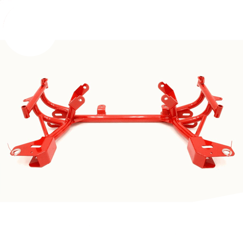 BMR Suspension KM013 Red K-member, TURBO, LS1 Motor Mounts, Standard Rack Mounts