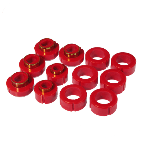Prothane 7-115 Red Body Mount Bushings for 82-04 Chevy S10/GMC S15 Standard Cab