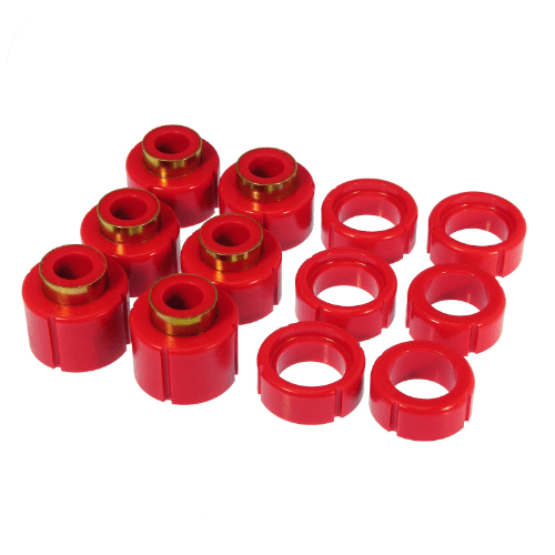 Prothane 7-112 Body Mount Bushing Kit for 88-98 GM Full Size Trucks Standard Cab