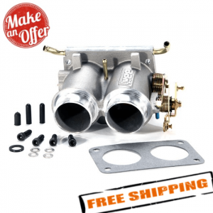 BBK 3501 Twin 56mm Throttle Body for 1987-1996 Ford F-150 5.0L and 5.8L 302/351