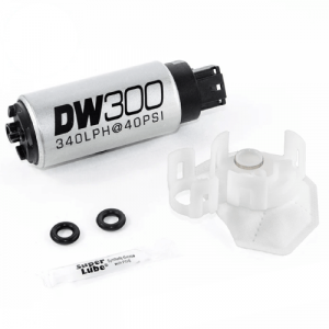 DeatschWerks 9-307-1026 DW300C 340lph Compact Fuel Pump with 9-1026 Install Kit