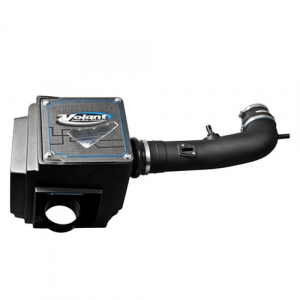 Volant 15553 Plastic Black Cold Air Intake System with Pro 5 Blue Filter
