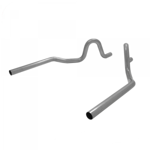 """Flowmaster 15802 Mandrel Bent 2.5"""" Rear Exit Tailpipes for 1964-1972 GM A-Body"""