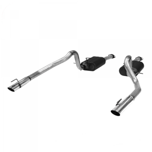 Flowmaster 17312 American Thunder Cat-Back Exhaust System for 99-04 Mustang GT