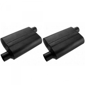"""Flowmaster 42543 Set of 2 Universal 40 Series Mufflers - 2.5"""" Offset In/Out"""