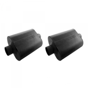 Flowmaster 943045 Set of 2 Super 44 Chambered Mufflers - 3.00 Center In/Out