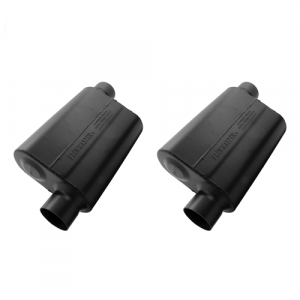 """Flowmaster 943048 Set of 2 Universal Super 44 Series Mufflers - 3"""" Offset In/Out"""