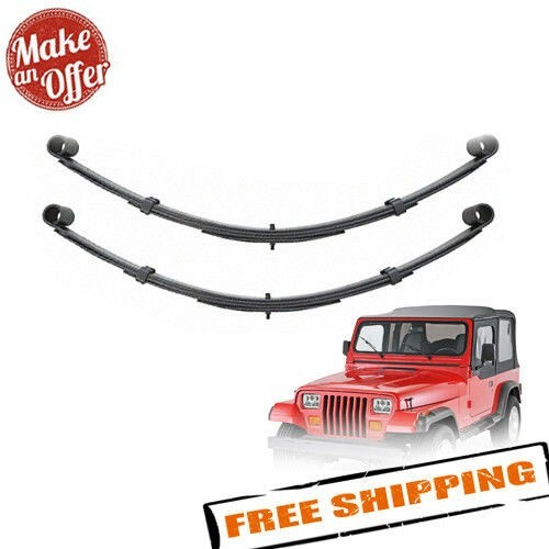 "Pro Comp 51323 Rear 2.5"" Lifted Leaf Springs - 1987-1996 Jeep Wrangler YJ - PAIR"