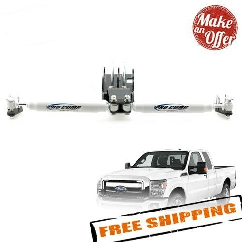 Pro Comp 222582 ES2000 Dual Steering Stabilizer Kit for 2005-2017 Ford F250/F350