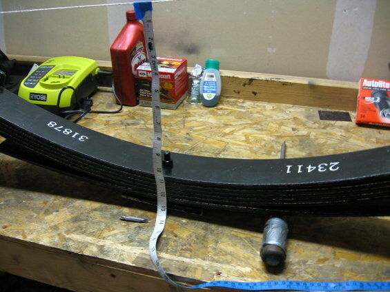 """Pro Comp 23411 Rear 5-6"""" Lifted Leaf Springs - PAIR"""