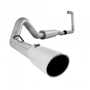 MBRP S6216AL Single Side Turbo Back Exhaust System for 03-05 Ford Excursion 6.0L