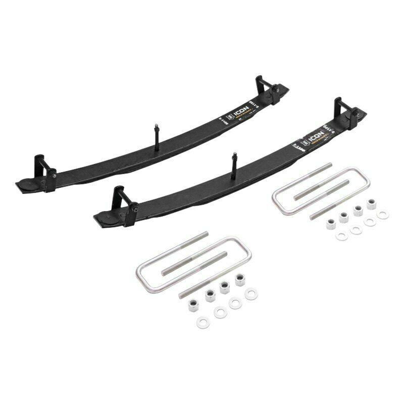 "Icon 51100 1.5"" Rear Add a Leaf Kit Expansion Pack for 1996-2015 Toyota Tacoma"