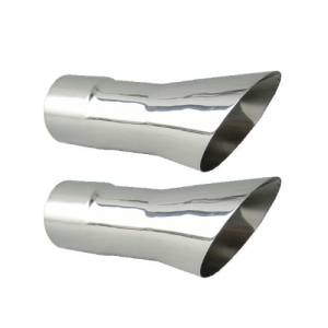 """Pypes EVT34 2.5"""" Trumpet Exhaust Tips for 1968-1971 Oldsmobile 442"""